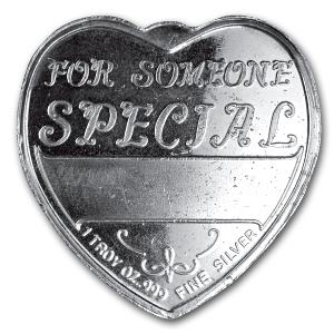 1 oz Silver Hearts - For Someone Special (Sagittarius)