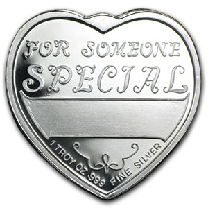 1 oz Silver Hearts - For Someone Special (Aquarius)