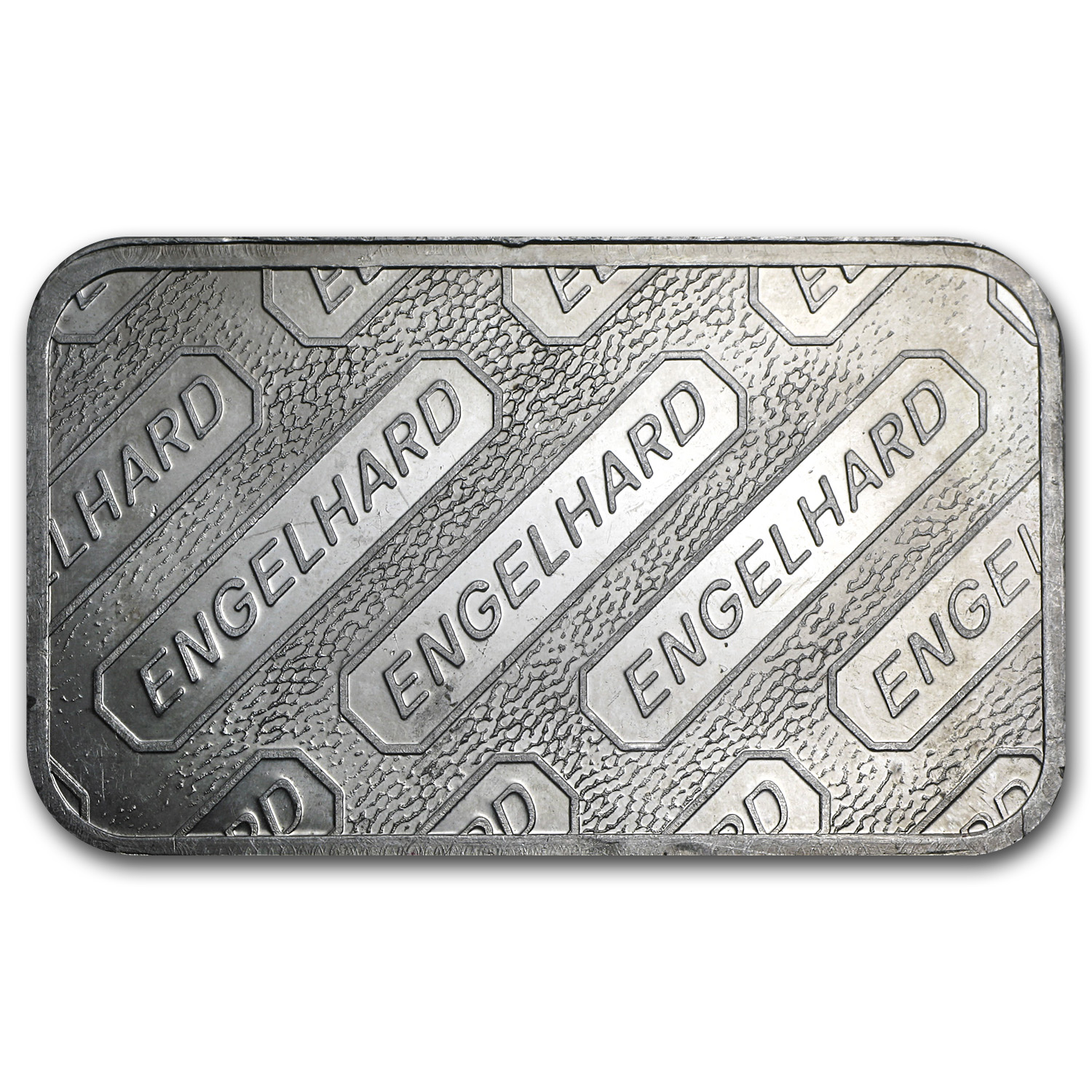 5 oz Silver Bars - Engelhard (Struck/Logo Back)