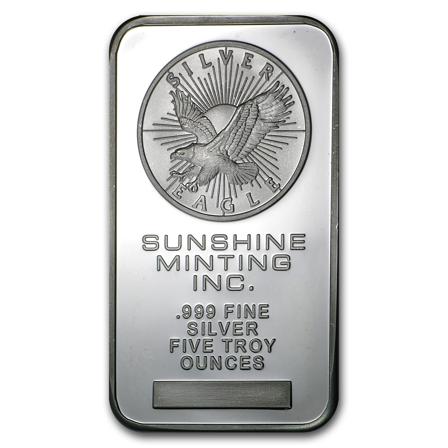 5 oz Silver Bars - Sunshine (Original)
