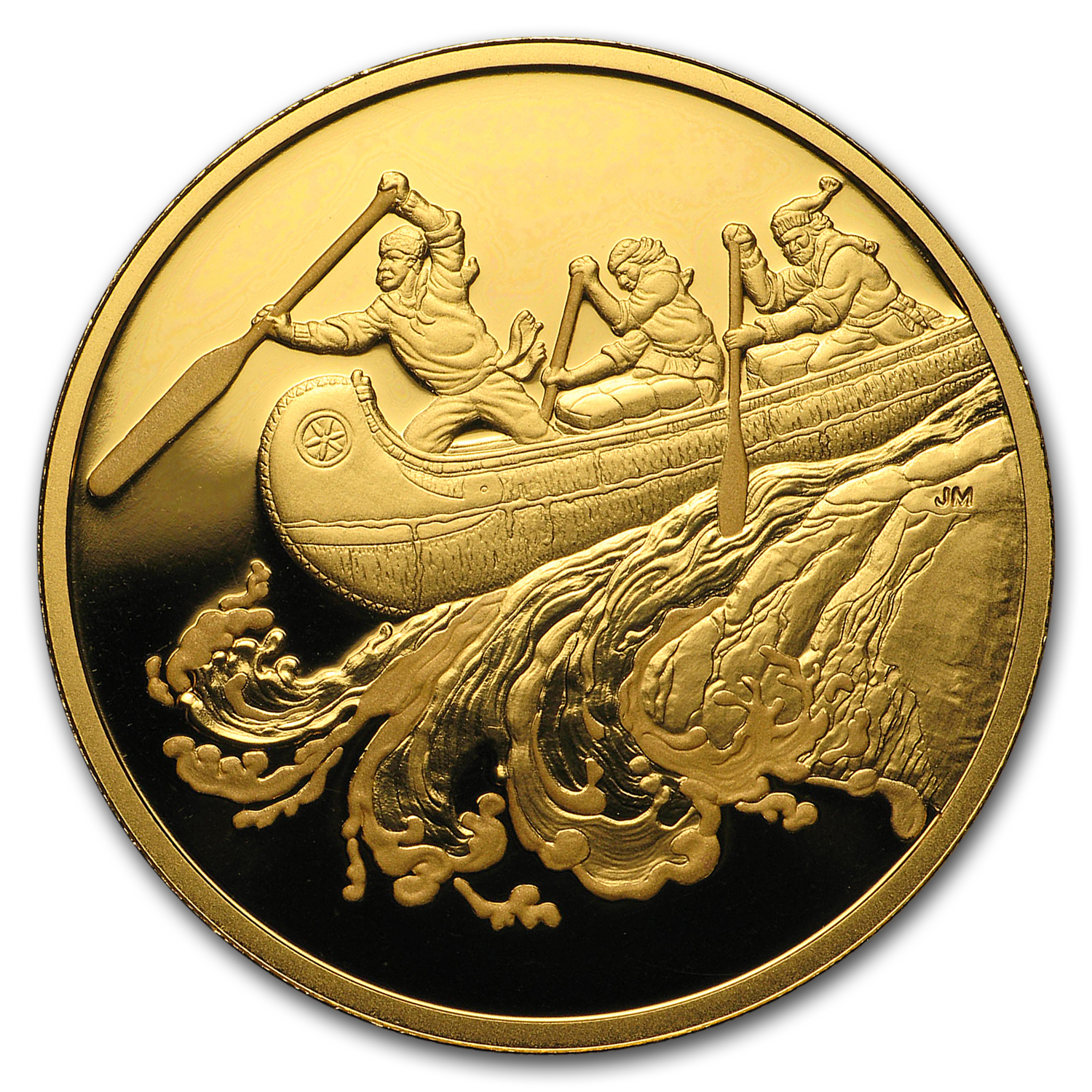 2005 Canada Proof Gold $200 Fur Traders