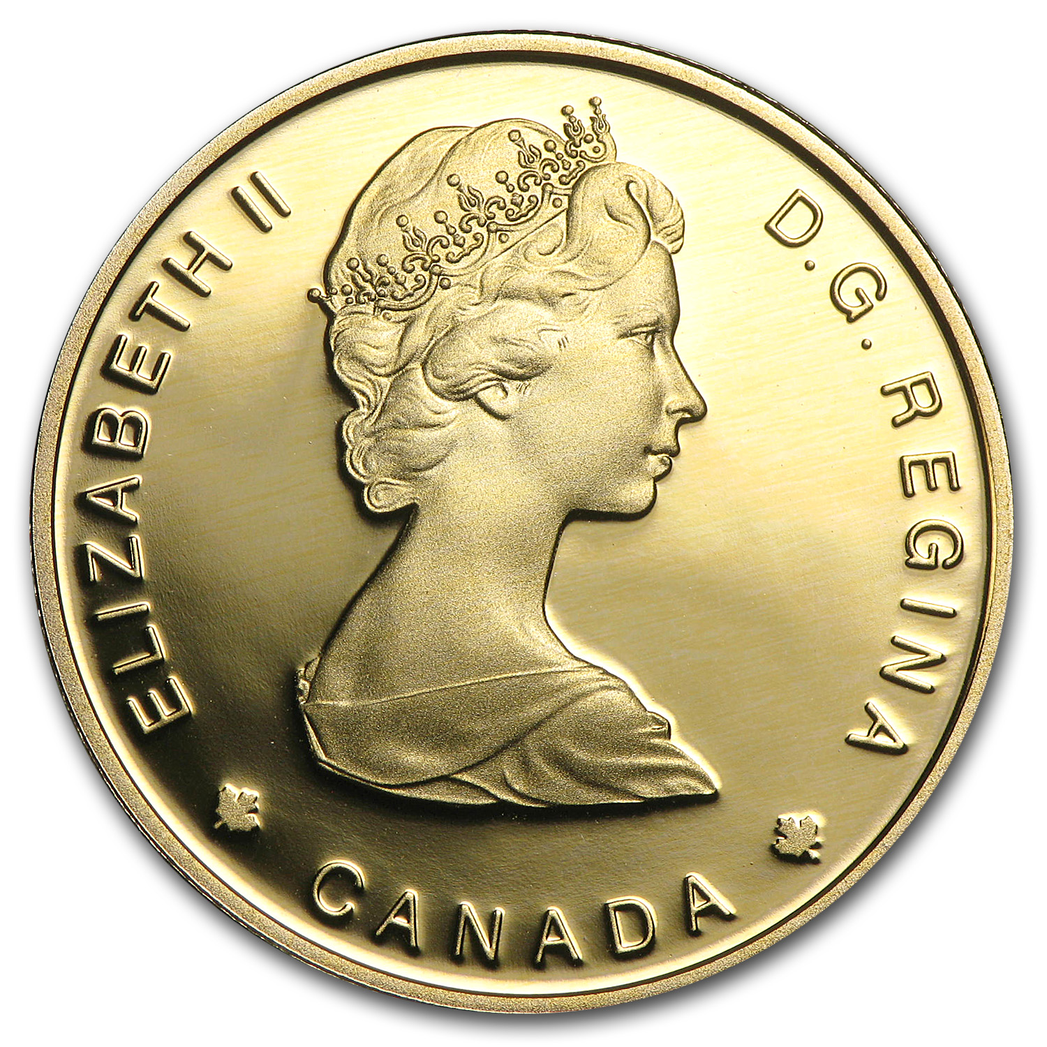 1989 Canada 1/4 oz Proof Gold $100 Sainte-Marie