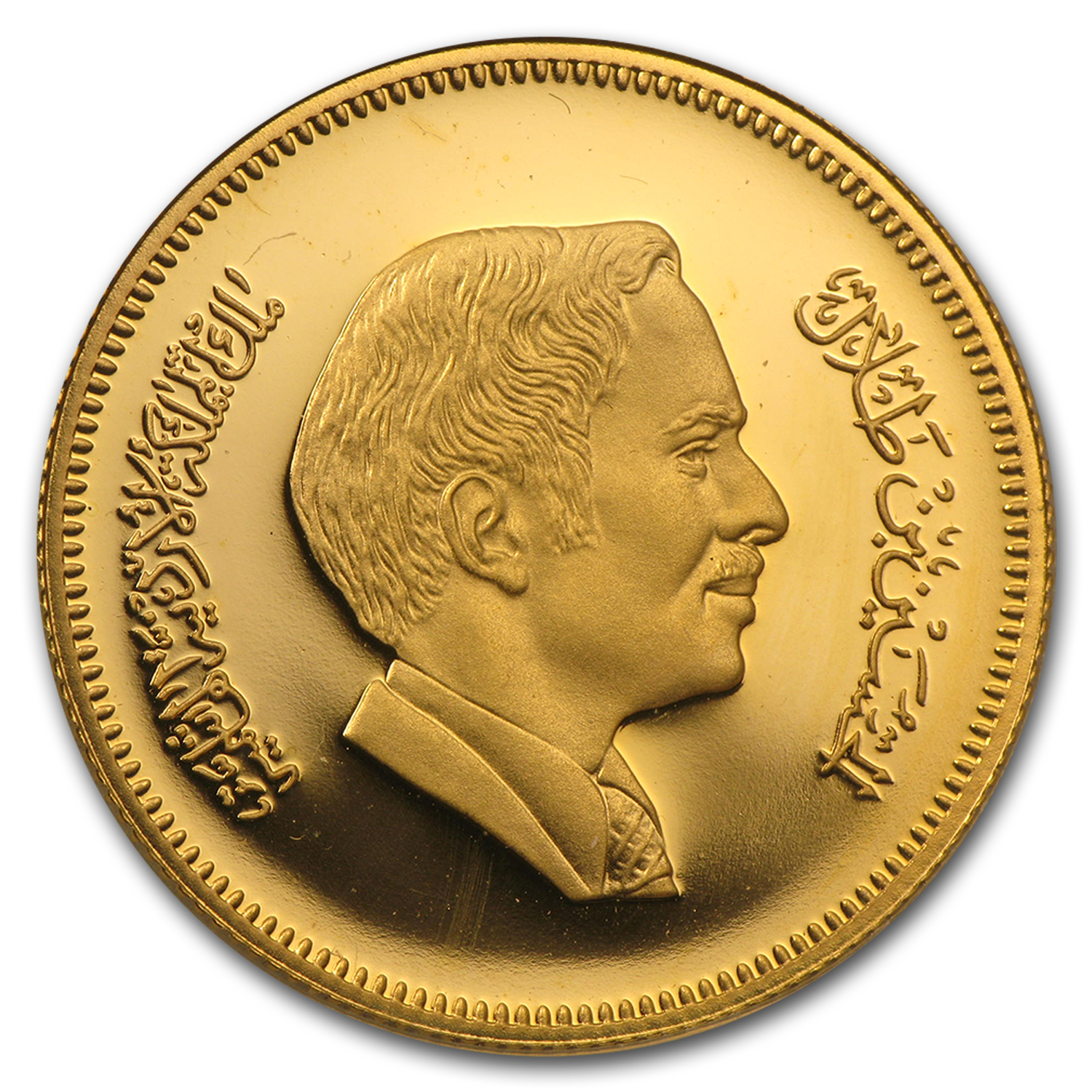 AH1401-1981 Jordan Proof Gold 60 Dinars