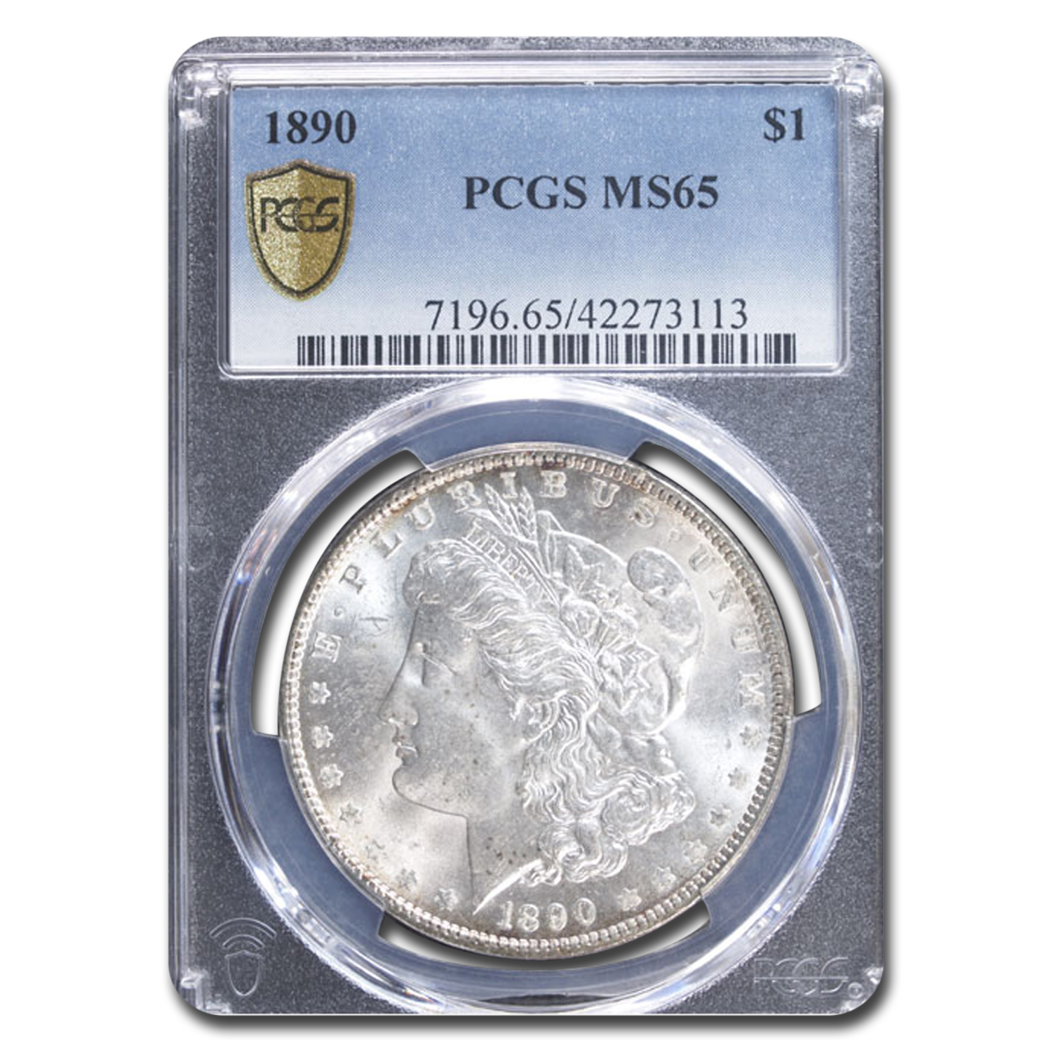 1890 Morgan Dollar MS-65 PCGS