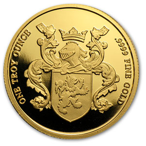 1 oz Gold Rounds - Crowne Mint