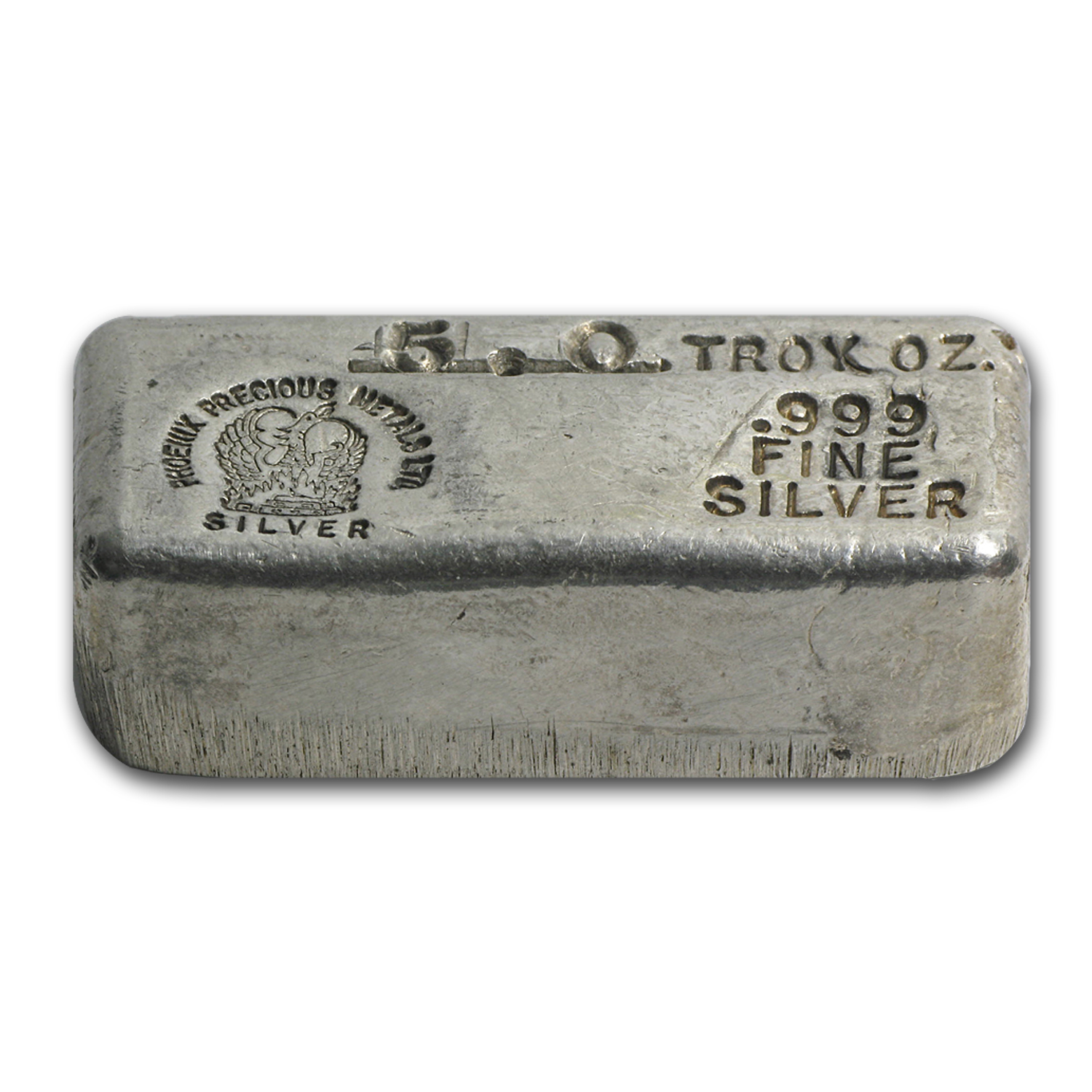 5 oz Silver Bar - Phoenix Precious Metals Ltd.