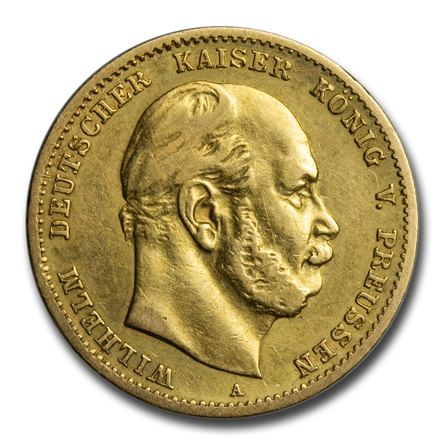 Germany Gold 10 Marks (Prussia) (AU)
