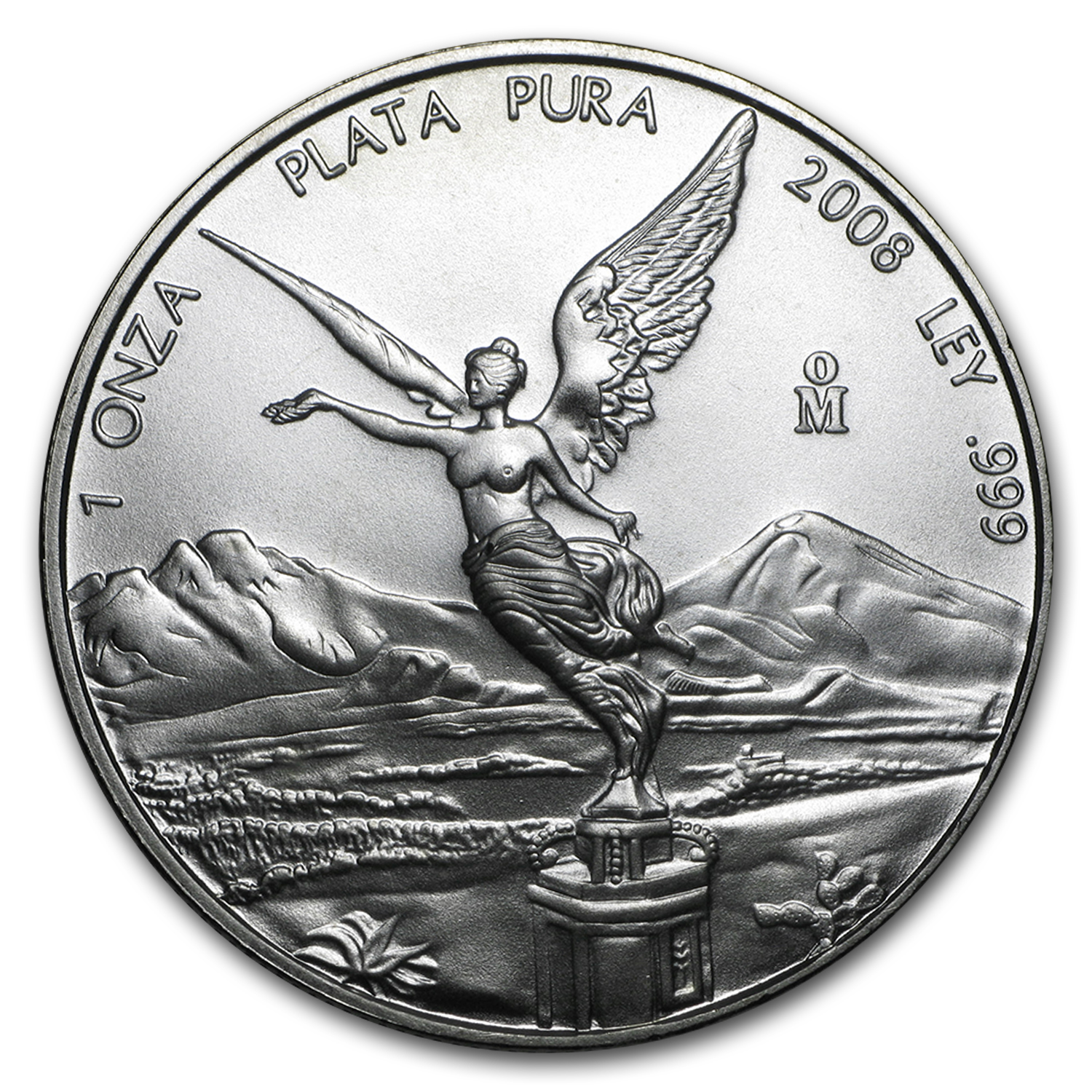 2008 1 oz Silver Mexican Libertad (Brilliant Uncirculated)