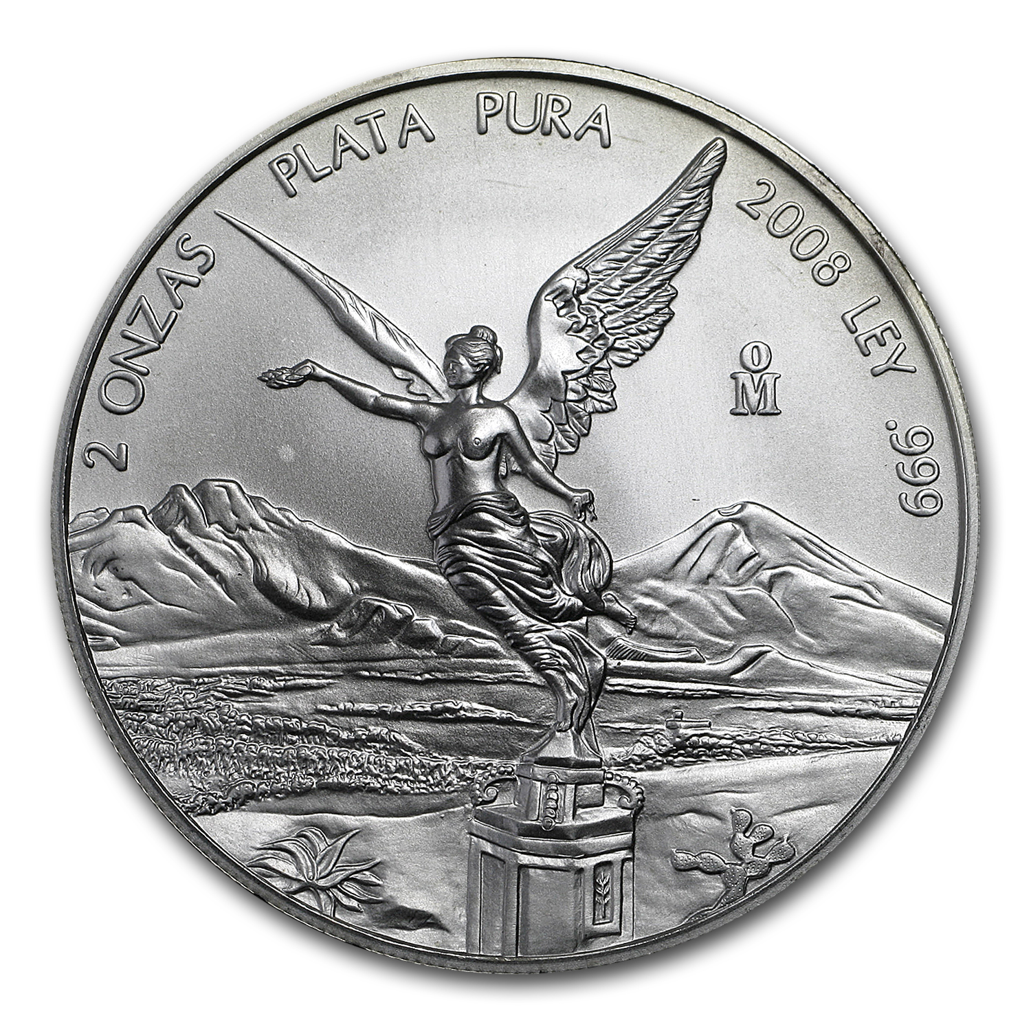 2008 2 oz Silver Mexican Libertad (Brilliant Uncirculated)