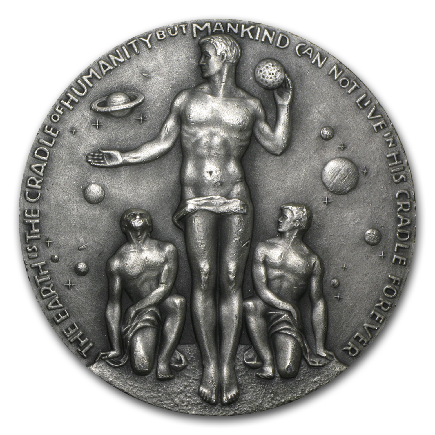 4.96 oz Silver Round - APOLLO 17