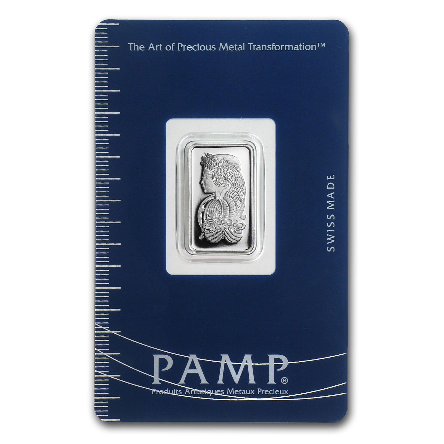 5 gram Silver Bar - PAMP Suisse (Fortuna, In Assay)
