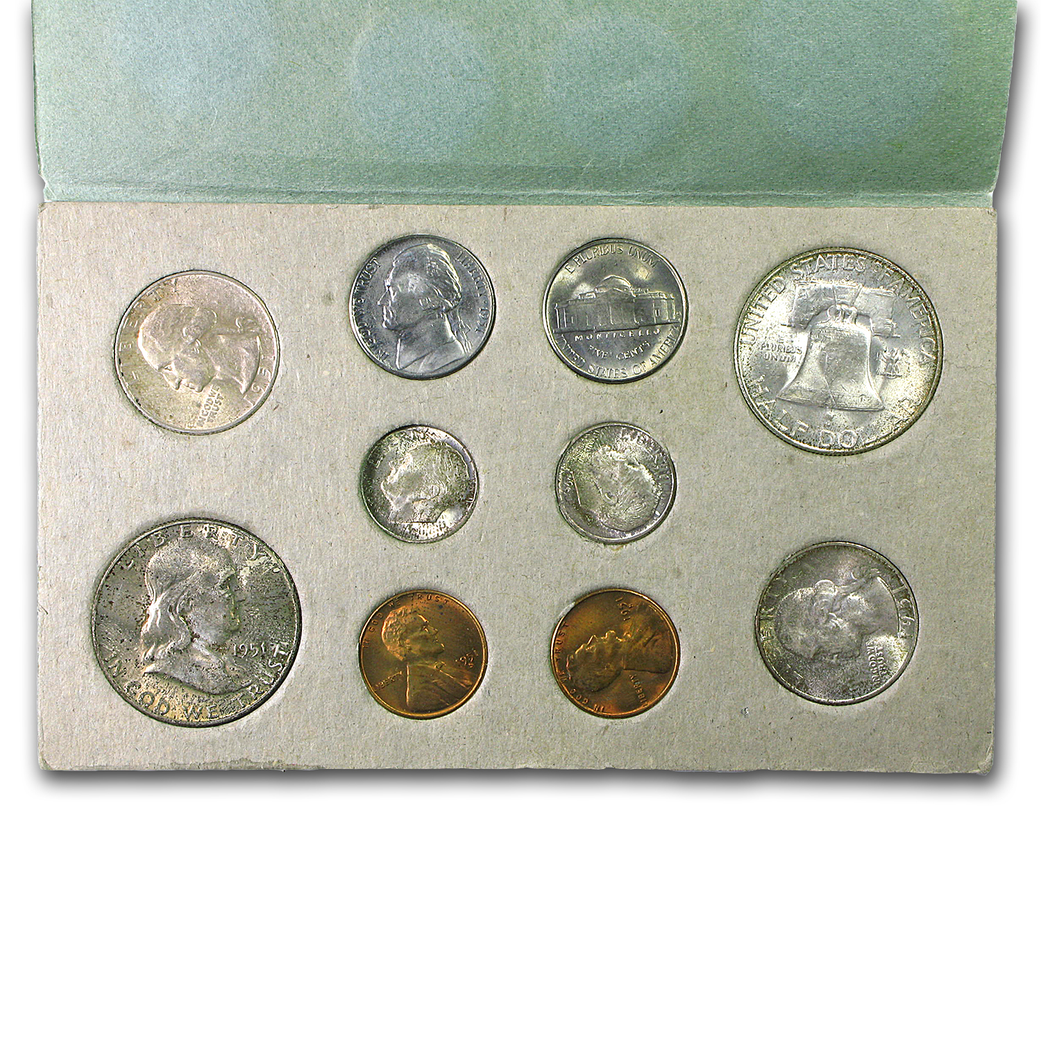 1951 U.S. Double Mint Set