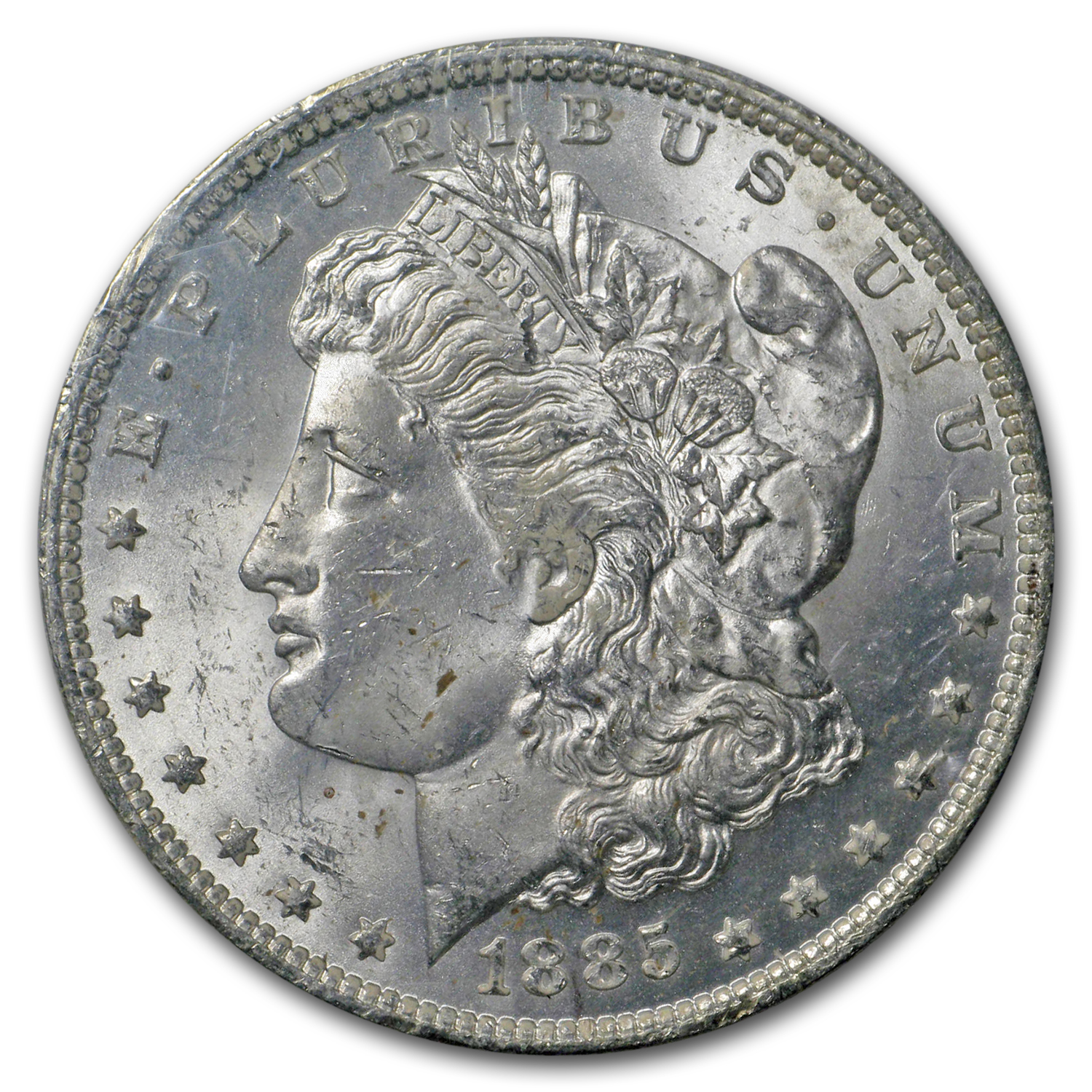 1885-O Morgan Dollar MS-63 NGC - GSA Certified Soft Pack