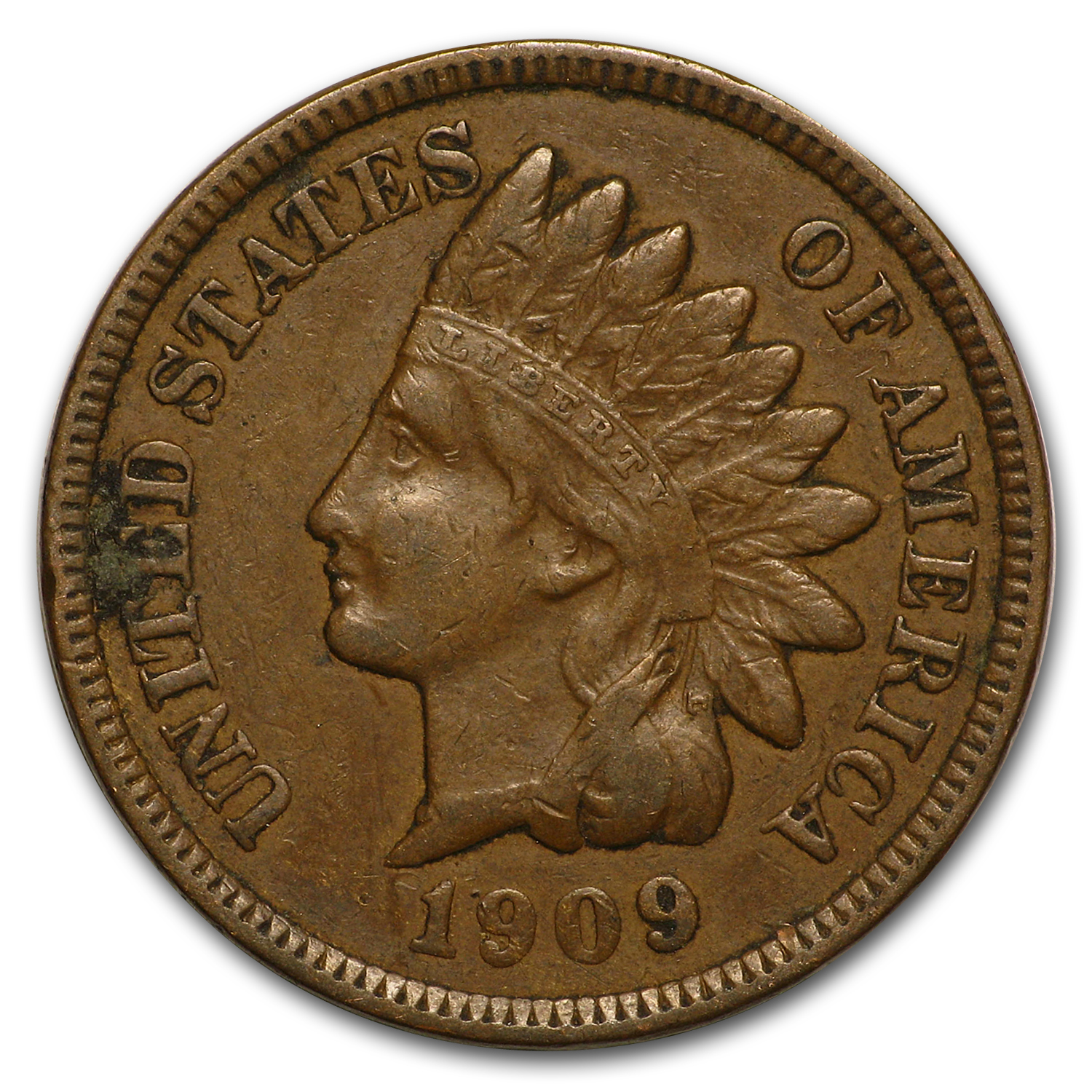 1909 Indian Head Cent XF