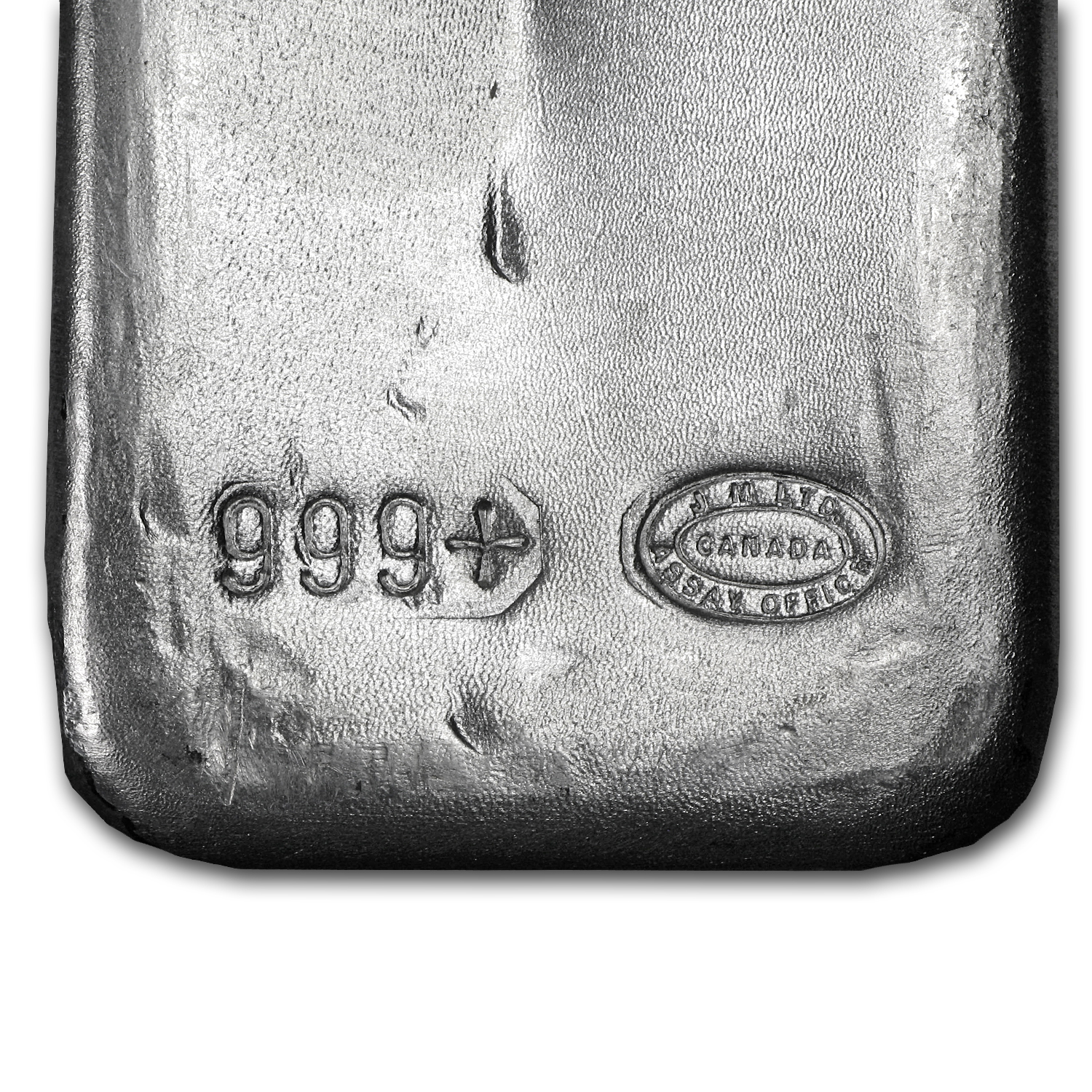 100 oz Silver Bars - Johnson Matthey (Mocatta Metals Corp)