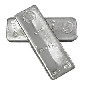 100 oz Silver Bar - Johnson Matthey (Mocatta Metals Corp)