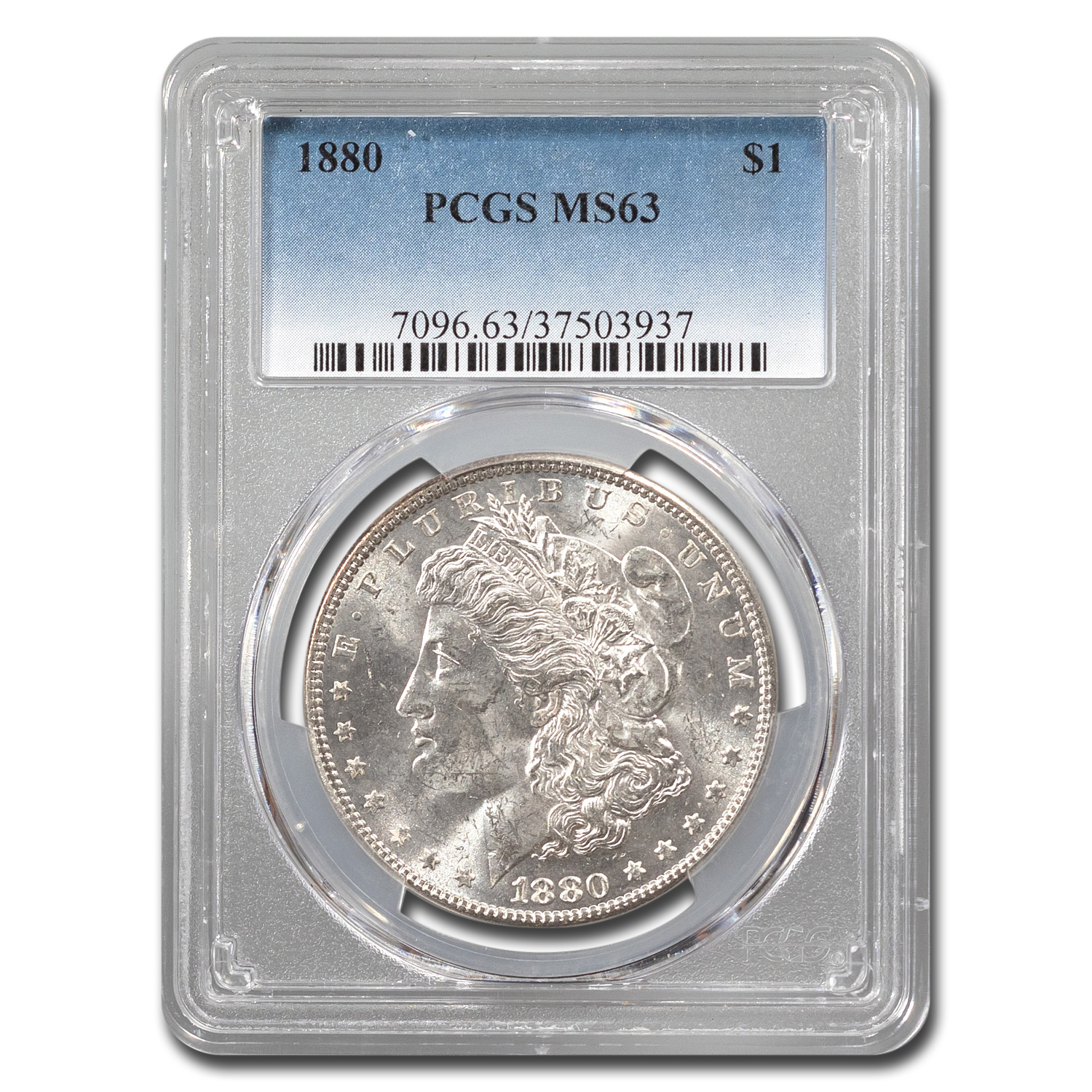 1880 Morgan Dollar MS-63 PCGS
