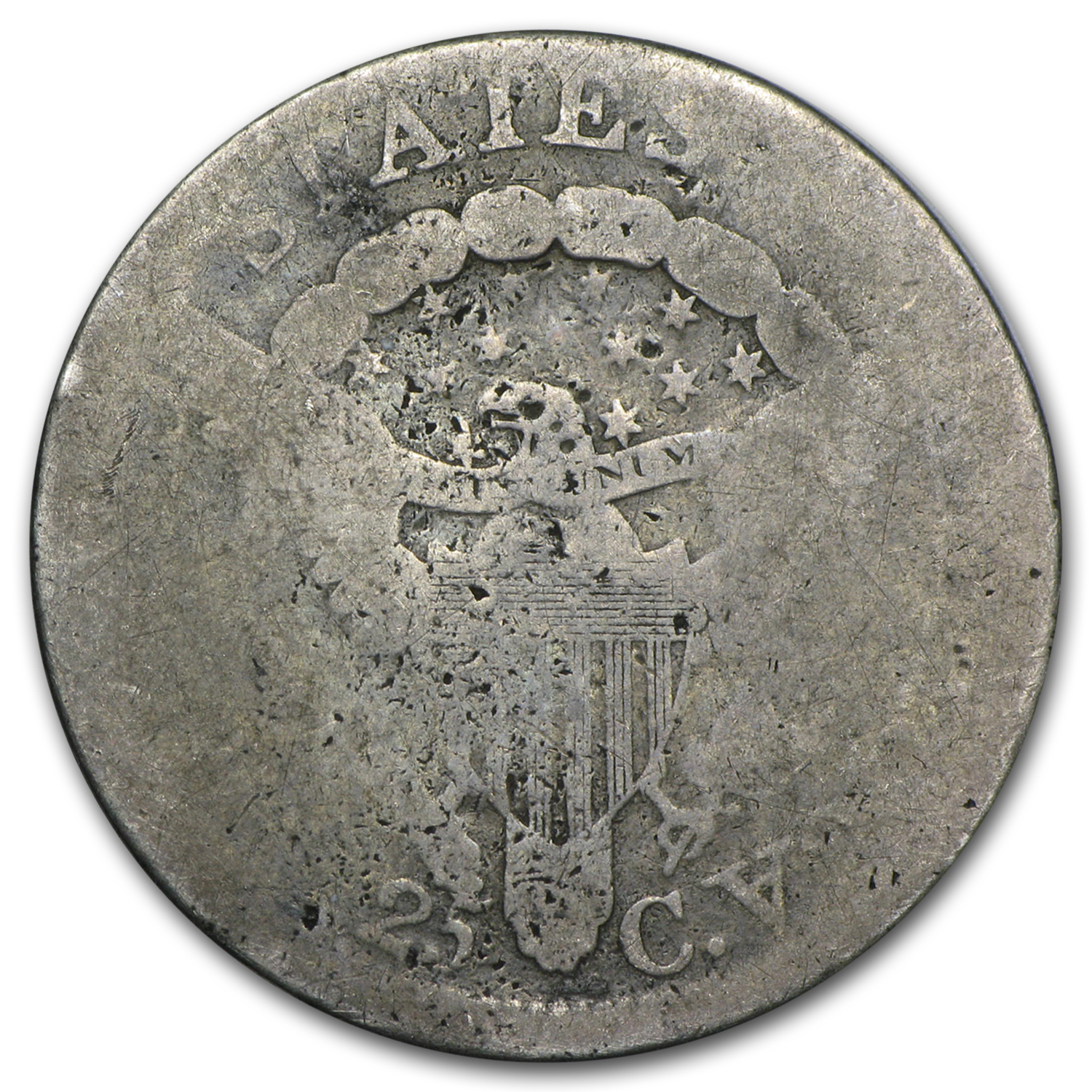 1805 Draped Bust Quarter AG