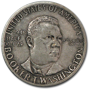 1946-51 Booker T. Washington Half Dollar XF