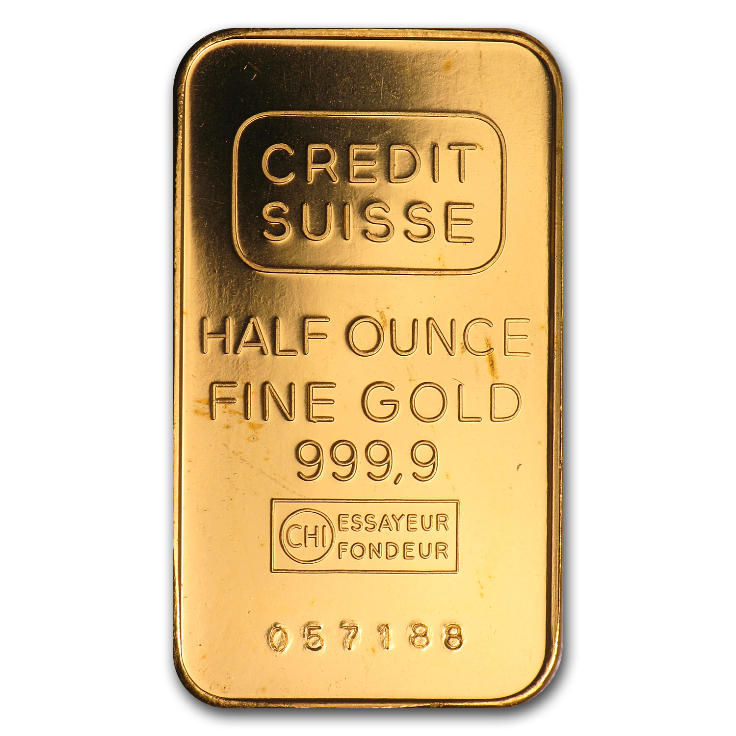 1/2 oz Gold Bars - Credit Suisse