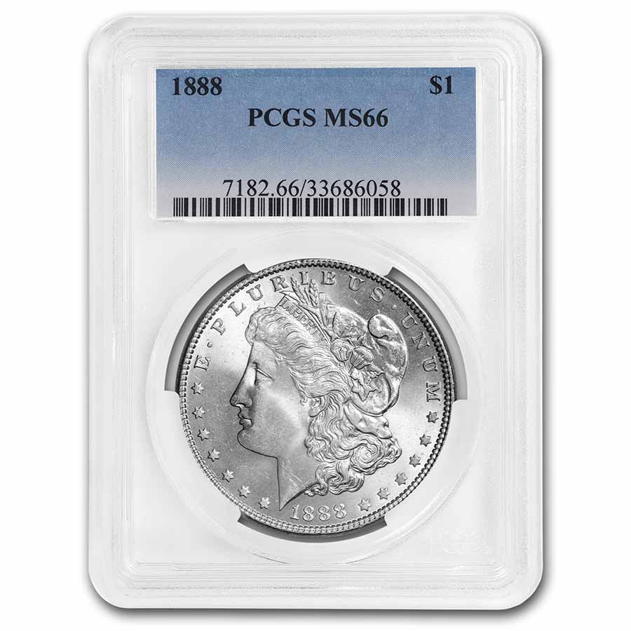 1888 Morgan Dollar MS-66 PCGS