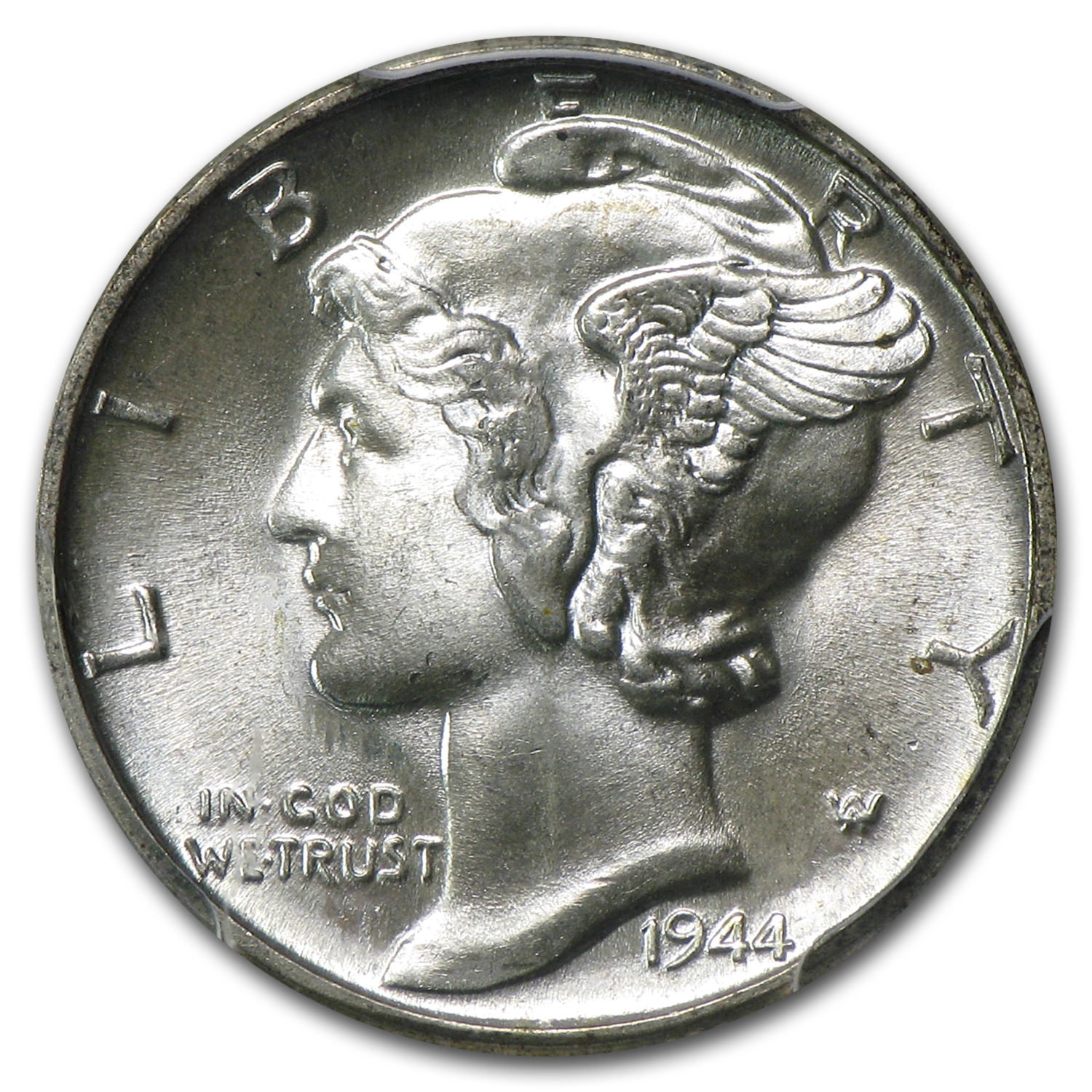 1944 -P Mercury Dime MS-66 PCGS