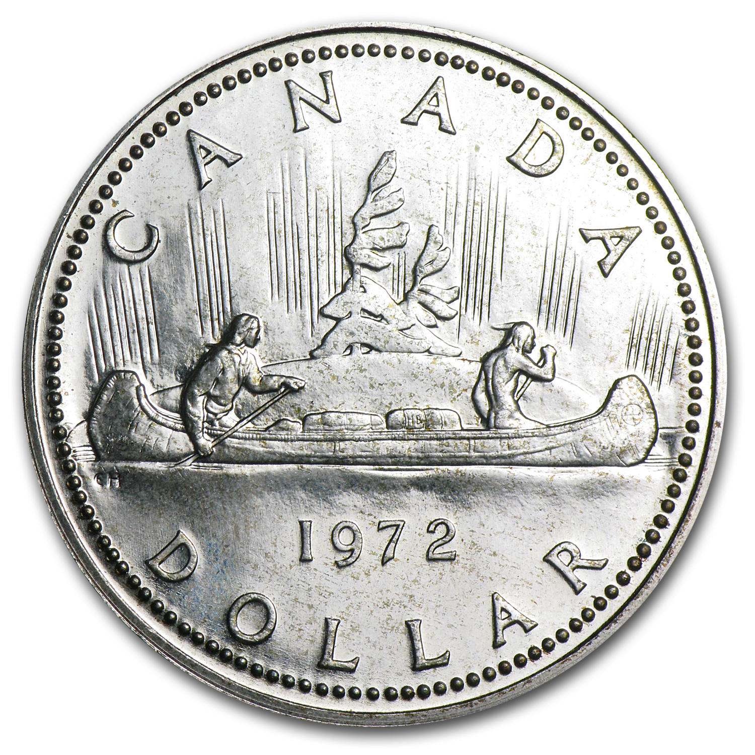 Canadian Silver Dollar Asw 3750 Oz Random Year