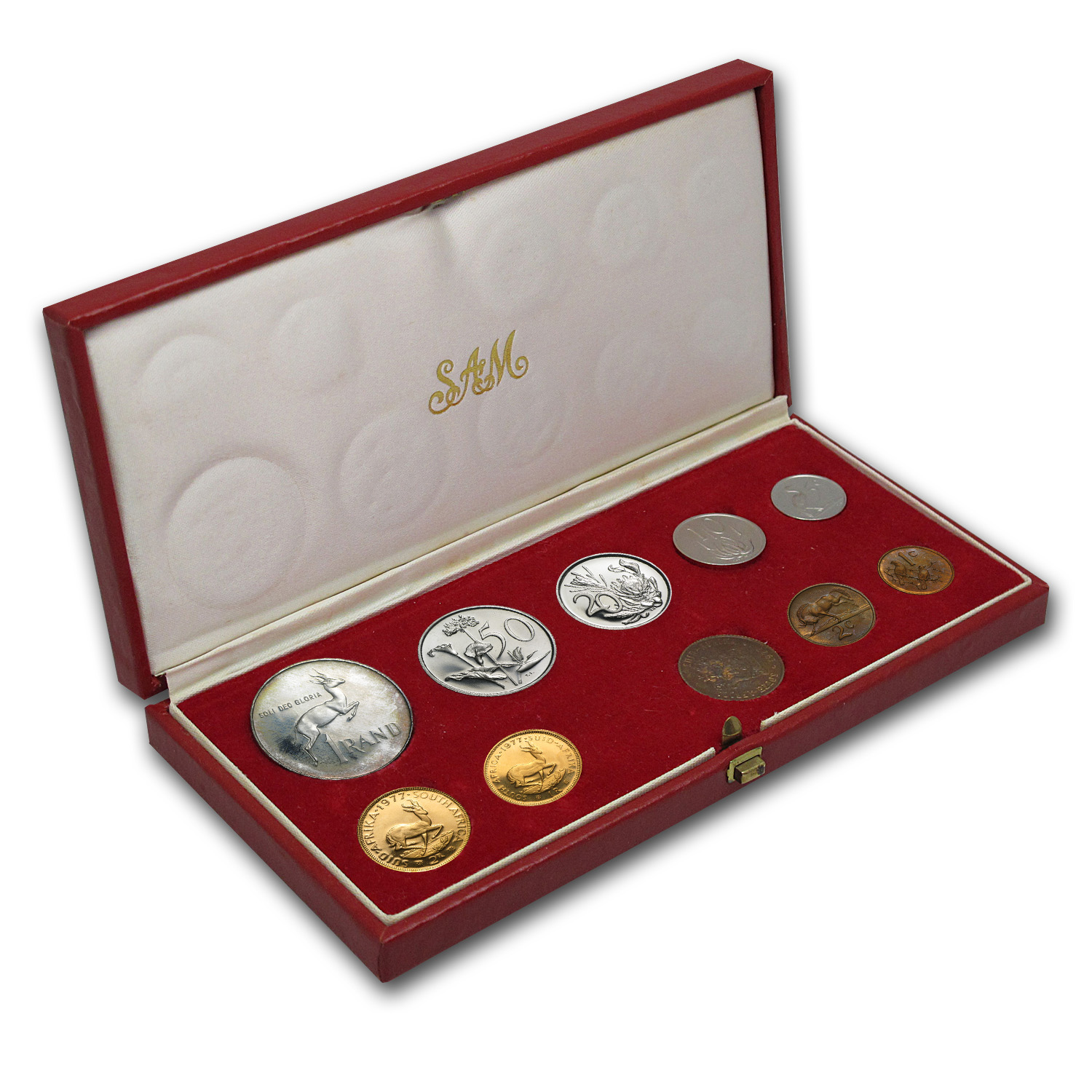 South Africa 10 Coin Proof Sets - Random Dates