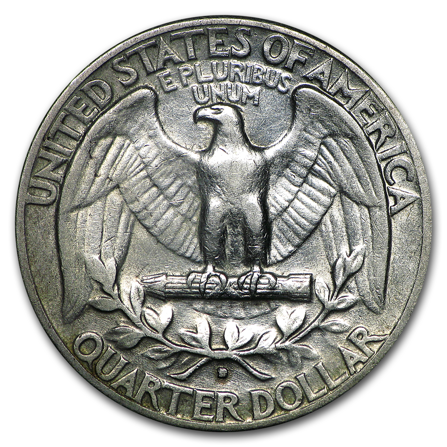 1932-D Washington Quarter XF