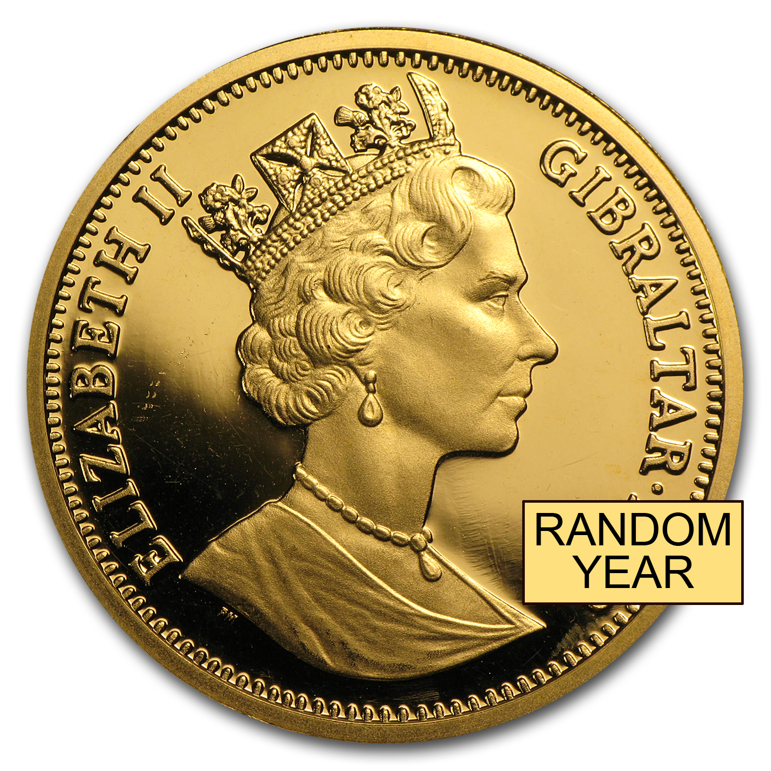 Gibraltar Gold 1 oz Royal Dog BU (Random)
