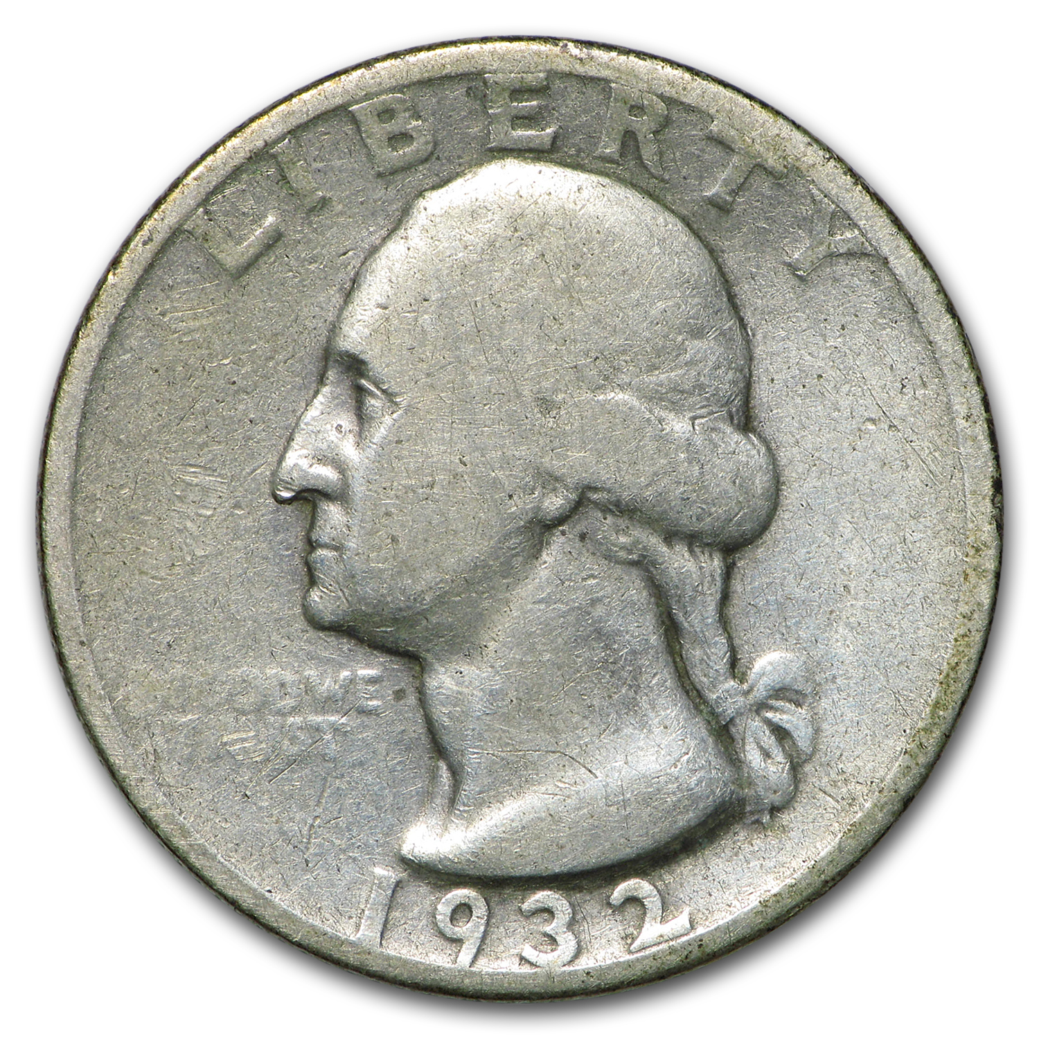 1932-S Washington Quarter Fine