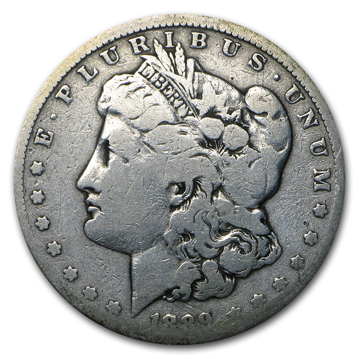 1889-CC Morgan Dollar AG