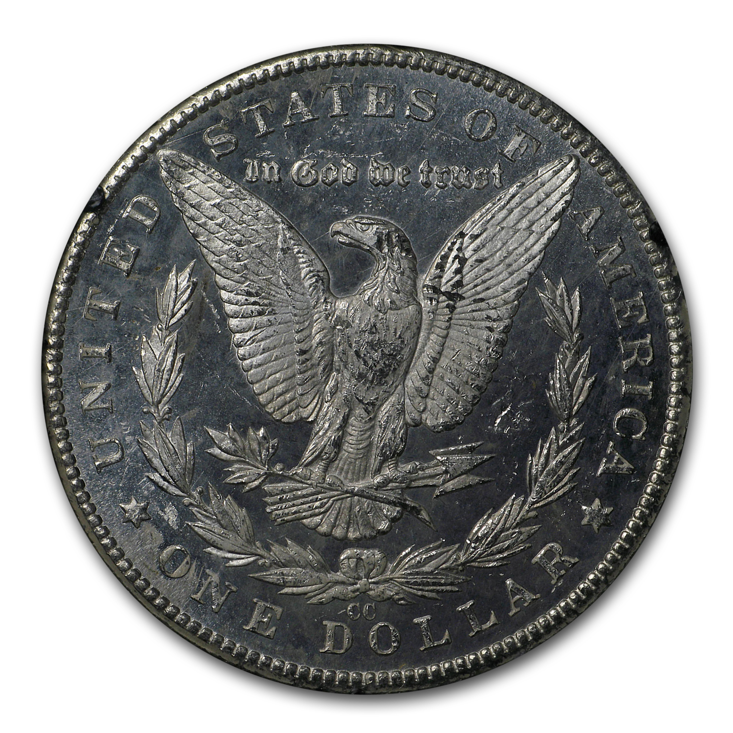 1884-CC Morgan Dollar MS-63 DPL NGC (GSA Certified)