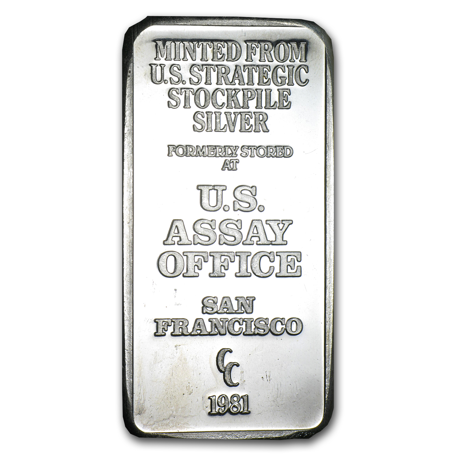 5 oz Silver Bar - U.S. Assay Office