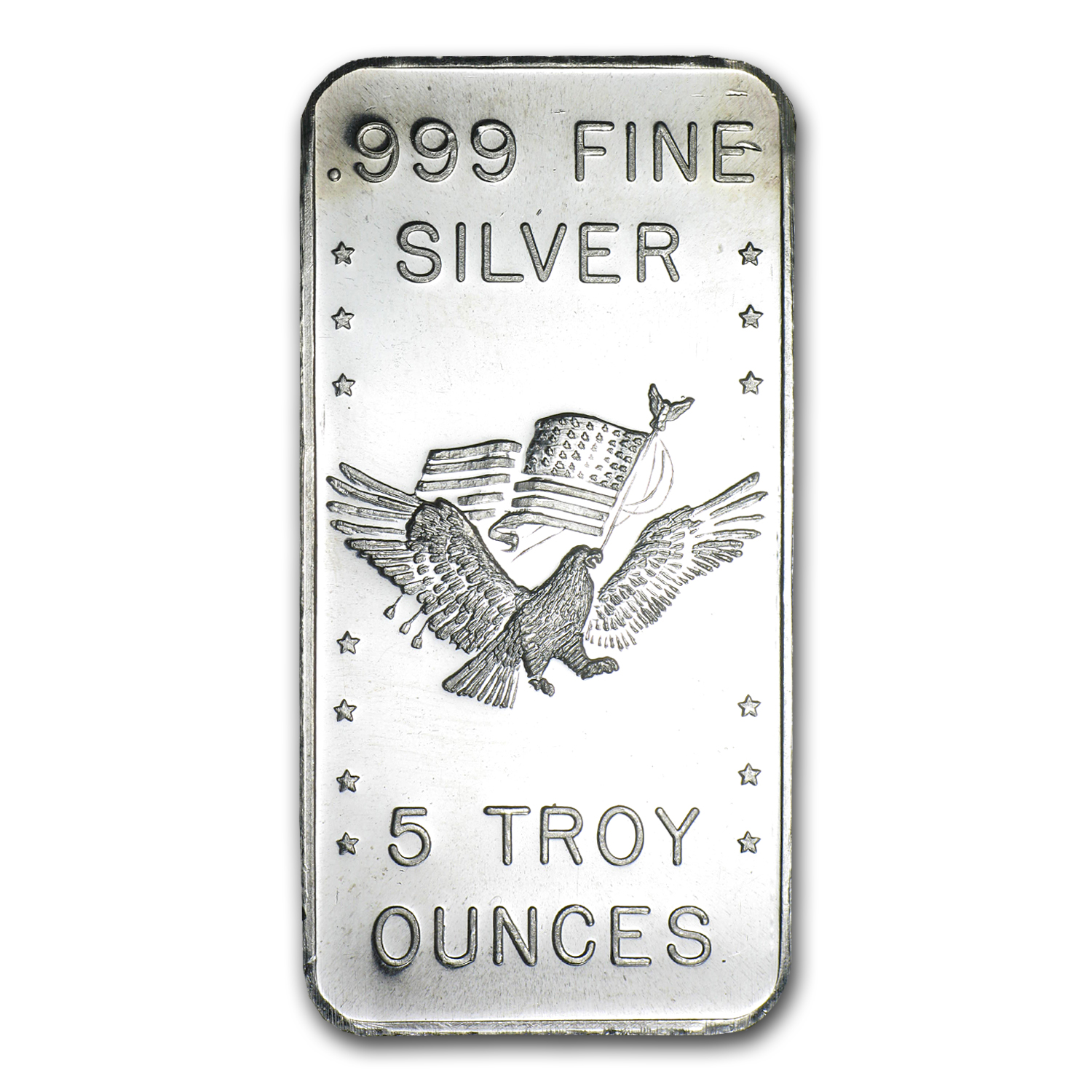 5 oz Silver Bars - U.S. Assay Office