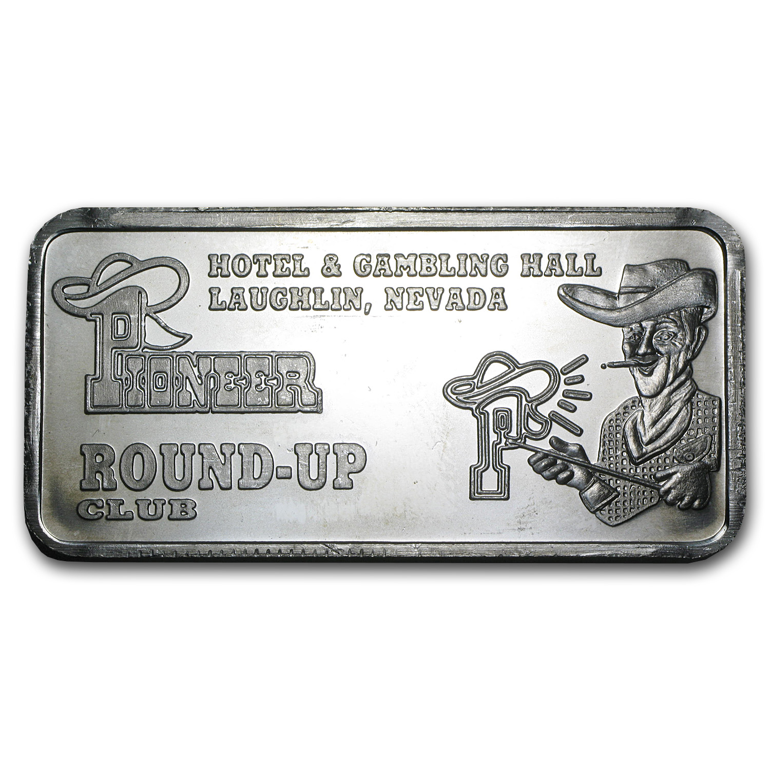 5 oz Silver Bar - APM (Round-Up Club)