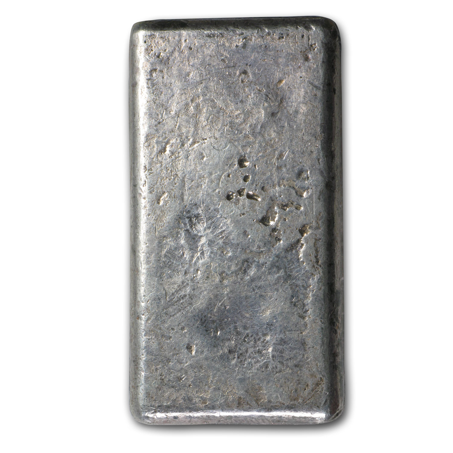 5 oz Silver Bars - Johnson Matthey (Poured/Flat)