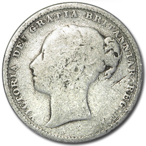 Great Britain 1838-1901 Silver Shillings of Victoria