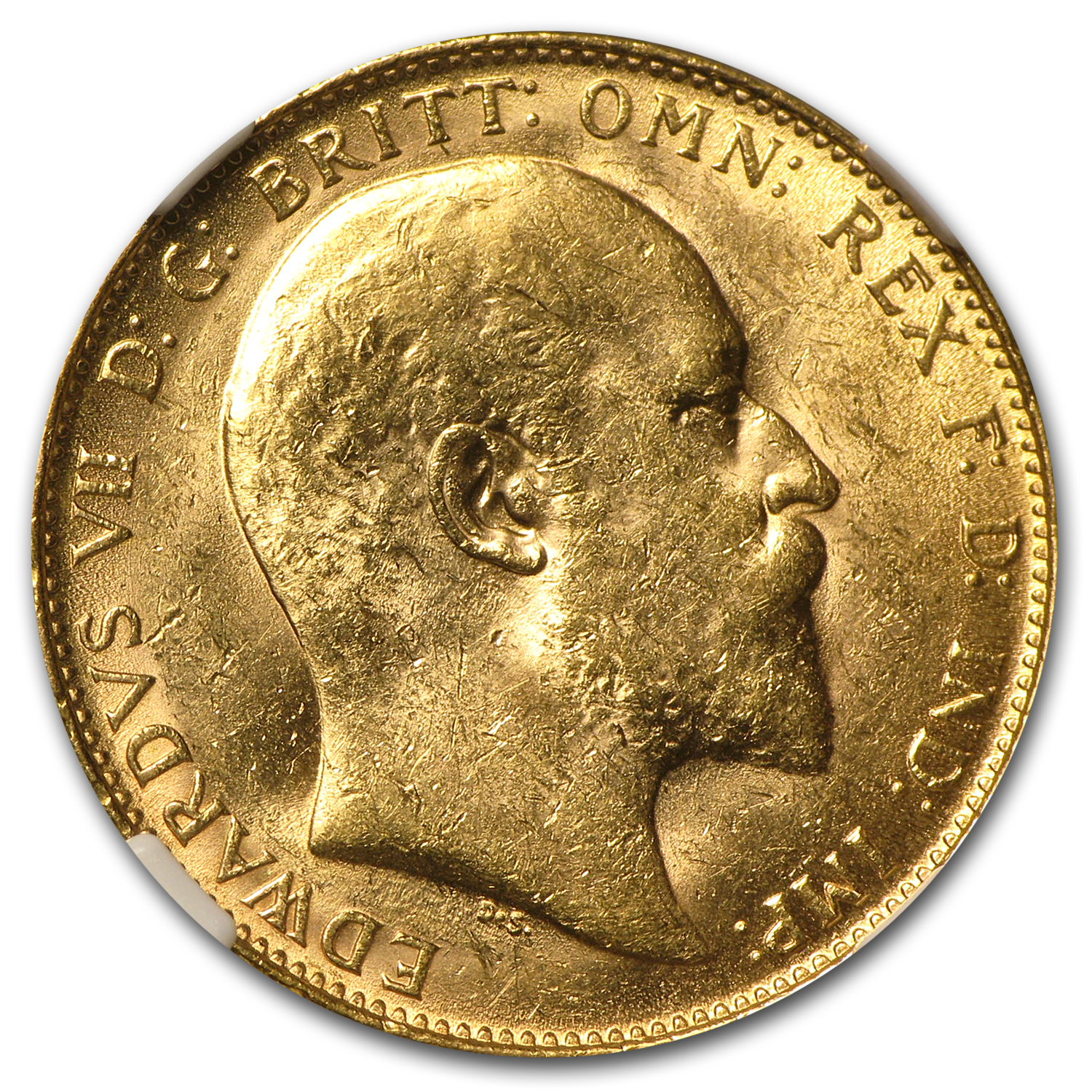 Great Britain Gold Sovereigns (Edward VII) MS-62 NGC