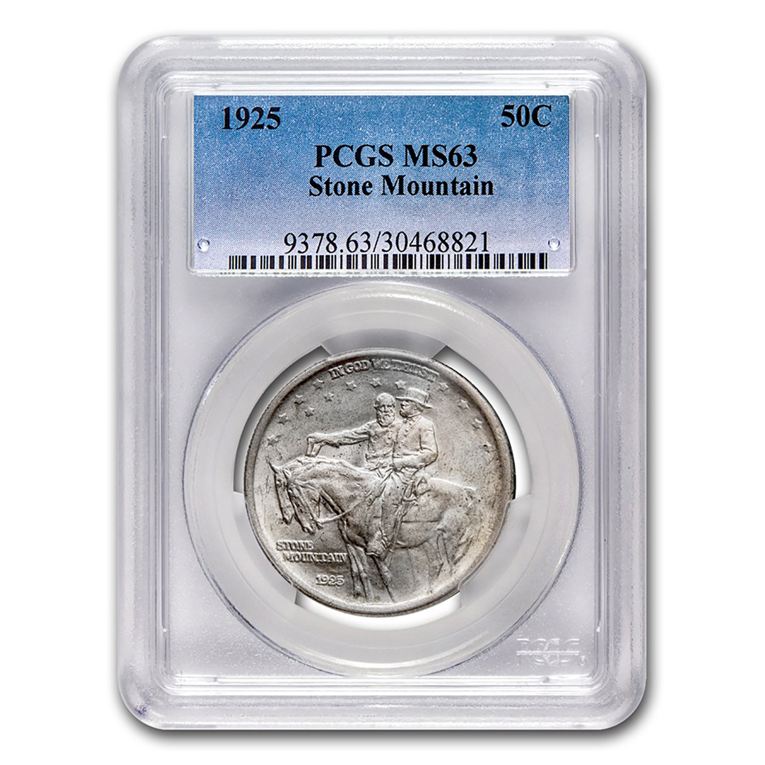 1925 Stone Mountain Memorial Half MS-63 PCGS