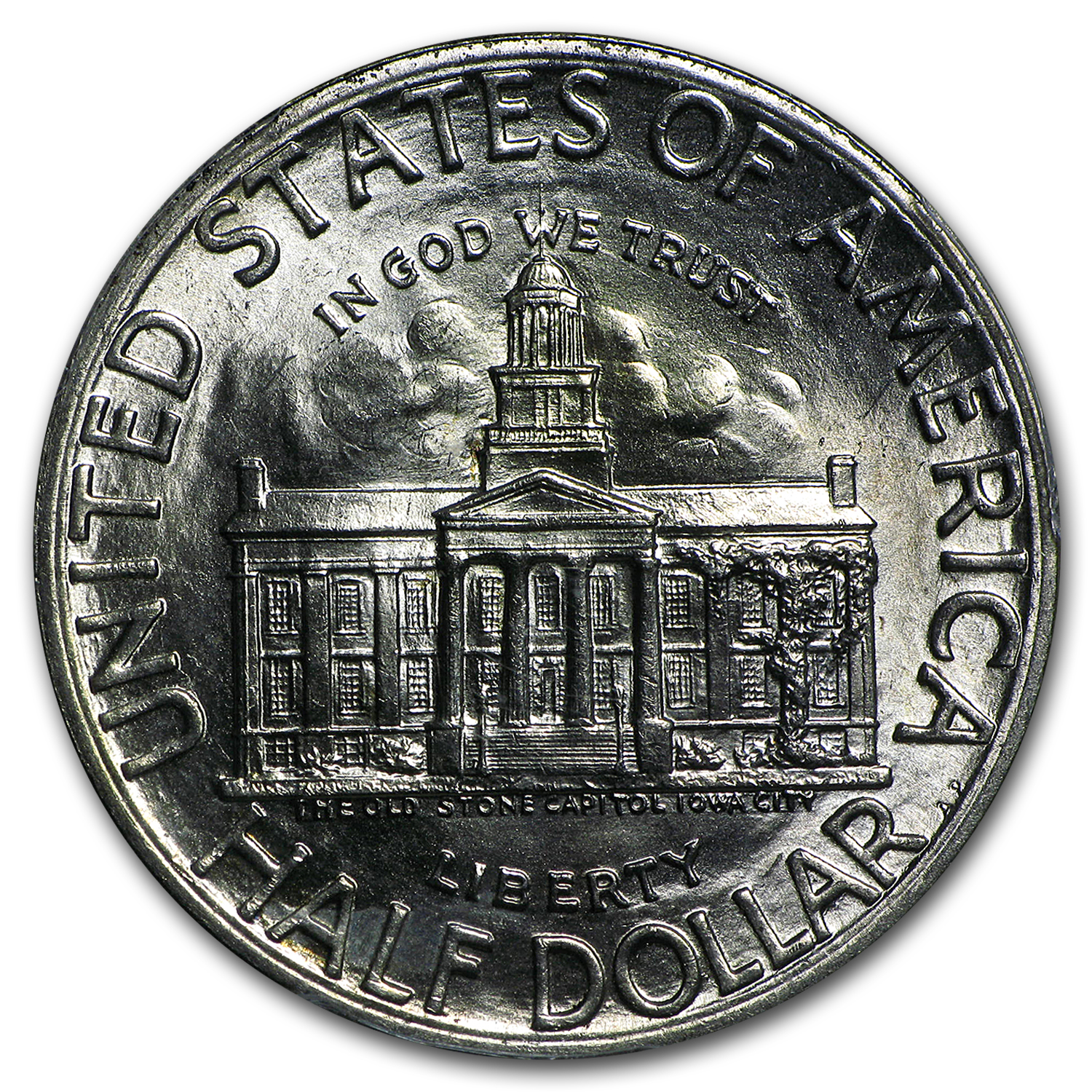 1946 Iowa Centennial MS-65 PCGS Commemorative Half Dollar
