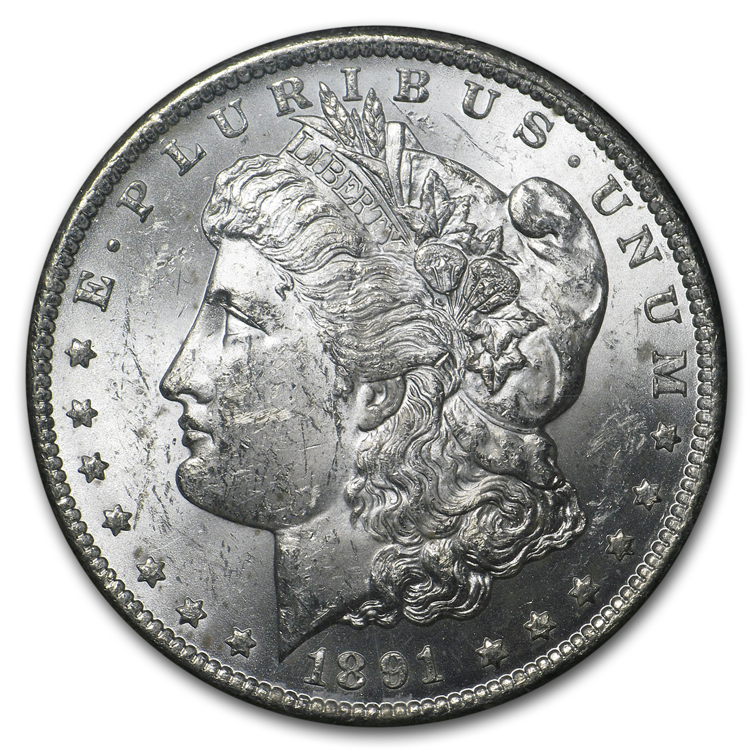 1891-CC Morgan Dollar BU (GSA)