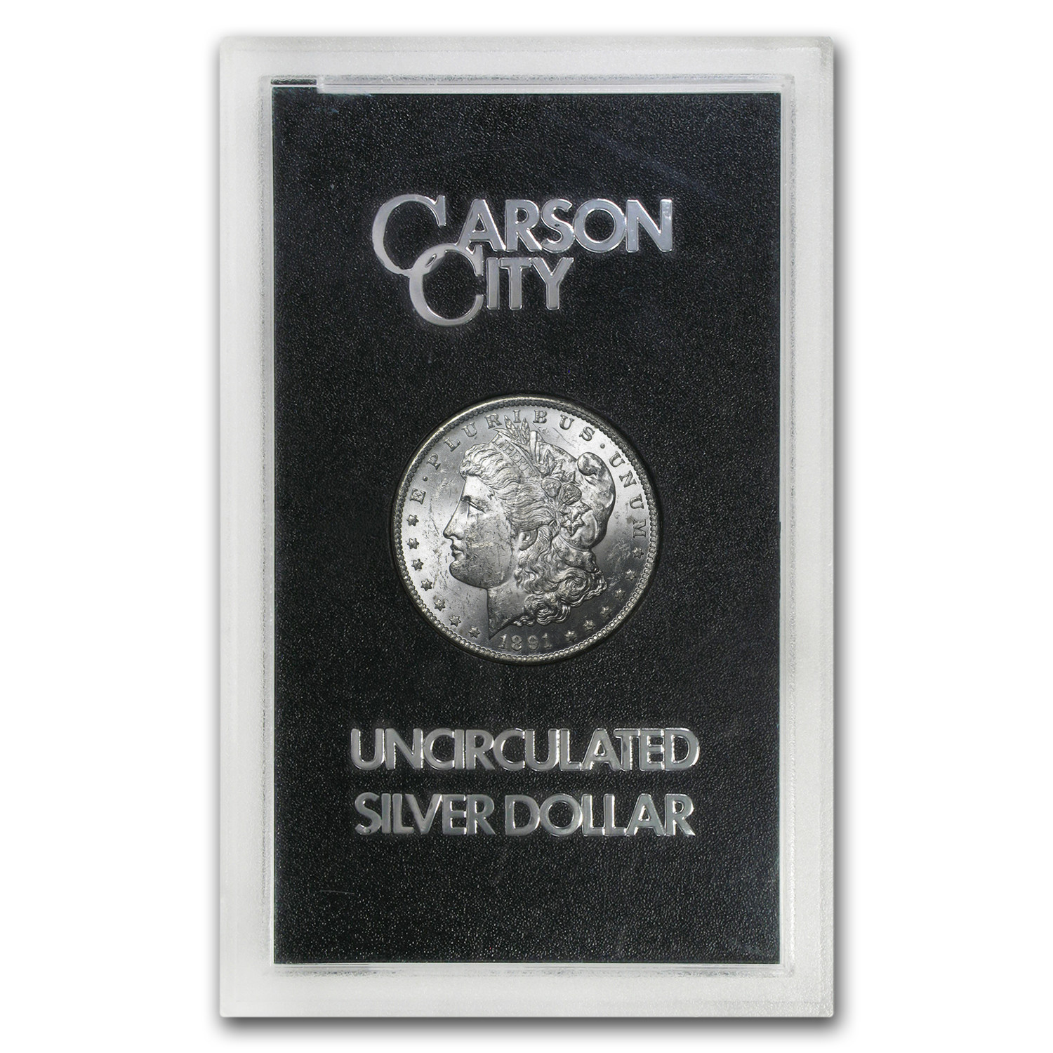 1891-CC Morgan Dollar BU (GSA Holder)