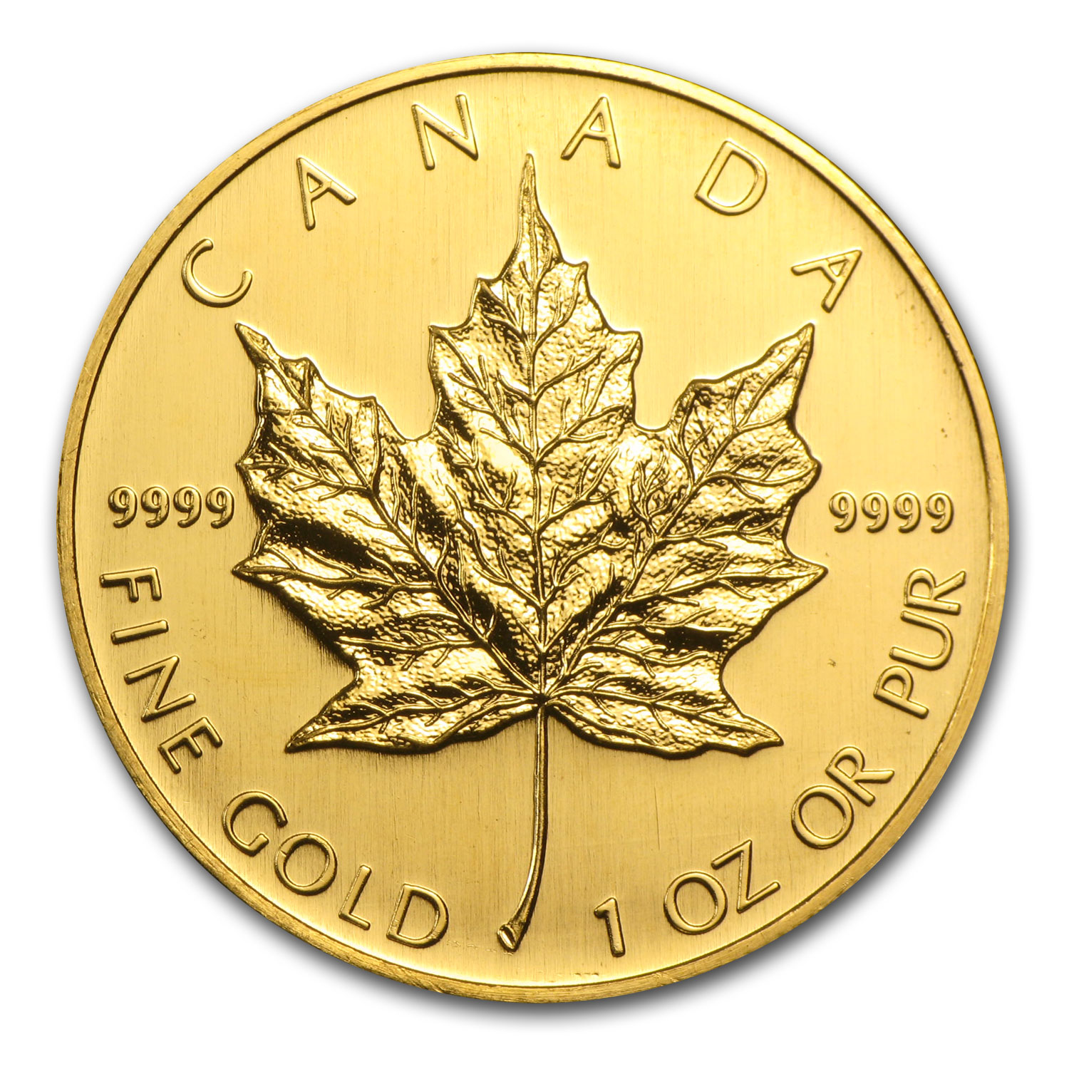 2005 1 oz Gold Canadian Maple Leaf - Brilliant Uncirculated
