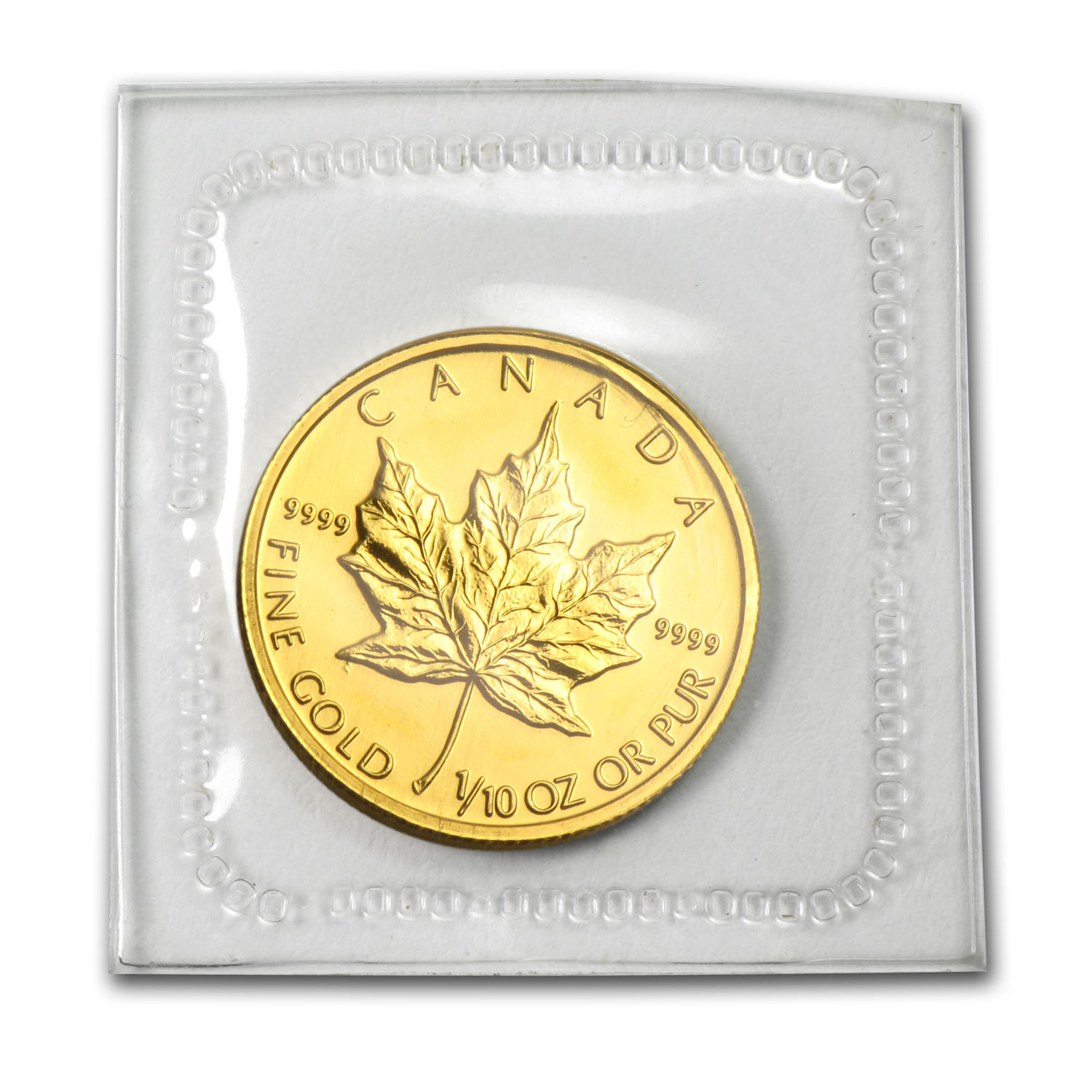 2005 1/10 oz Gold Canadian Maple Leaf