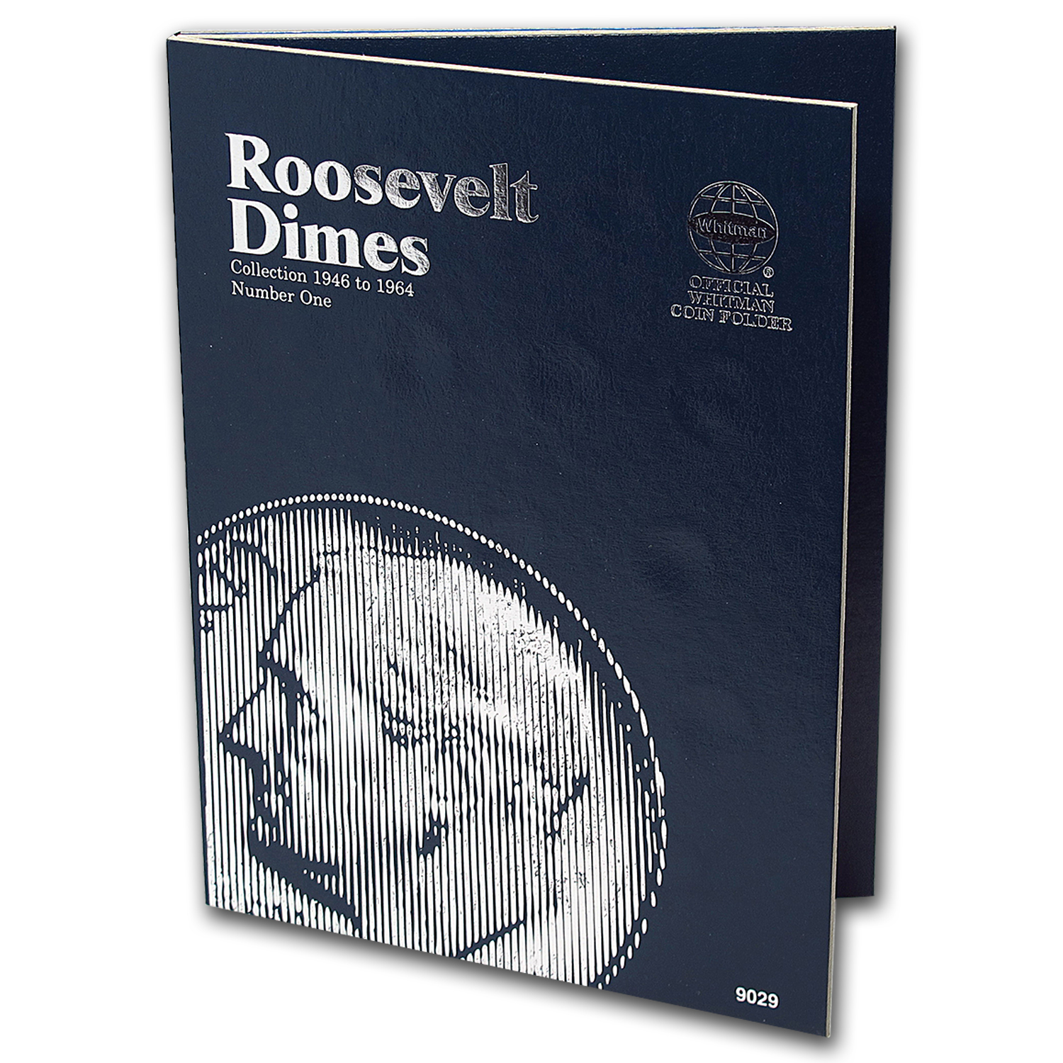 Whitman Folder #9029 - Roosevelt Dimes 1946-1964