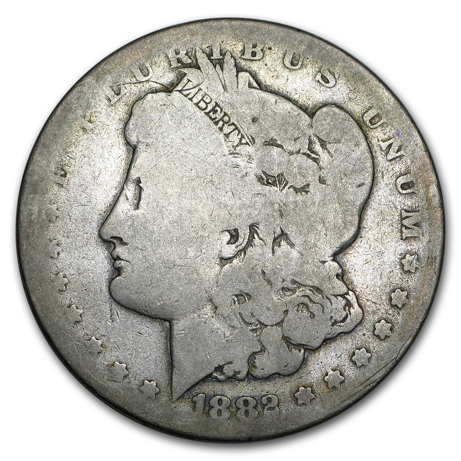 1882-CC Morgan Dollar AG