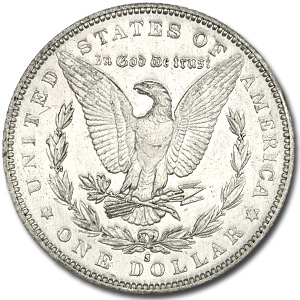1884-S Morgan Dollar BU Details - Harshly Cleaned