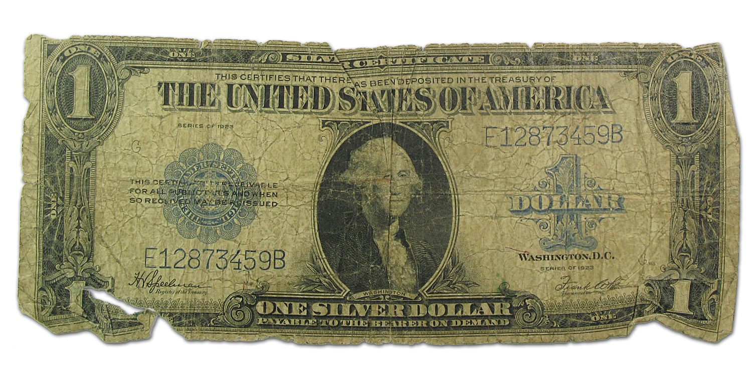 1923 $1.00 Silver Certificate (Fair-Good)
