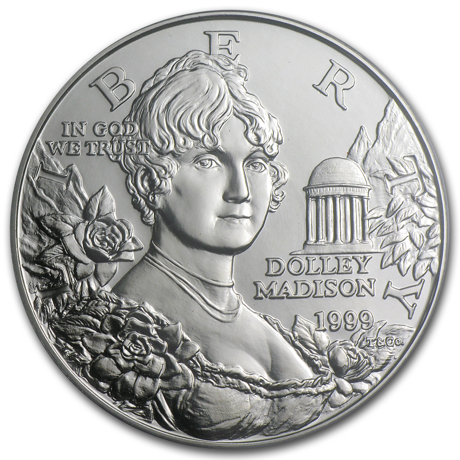 1999-P Dolley Madison $1 Silver Commemorative - MS-70 PCGS